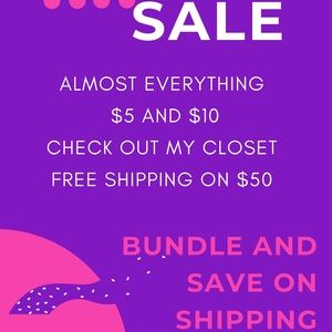 FREE SHIPPING on $50 orders
